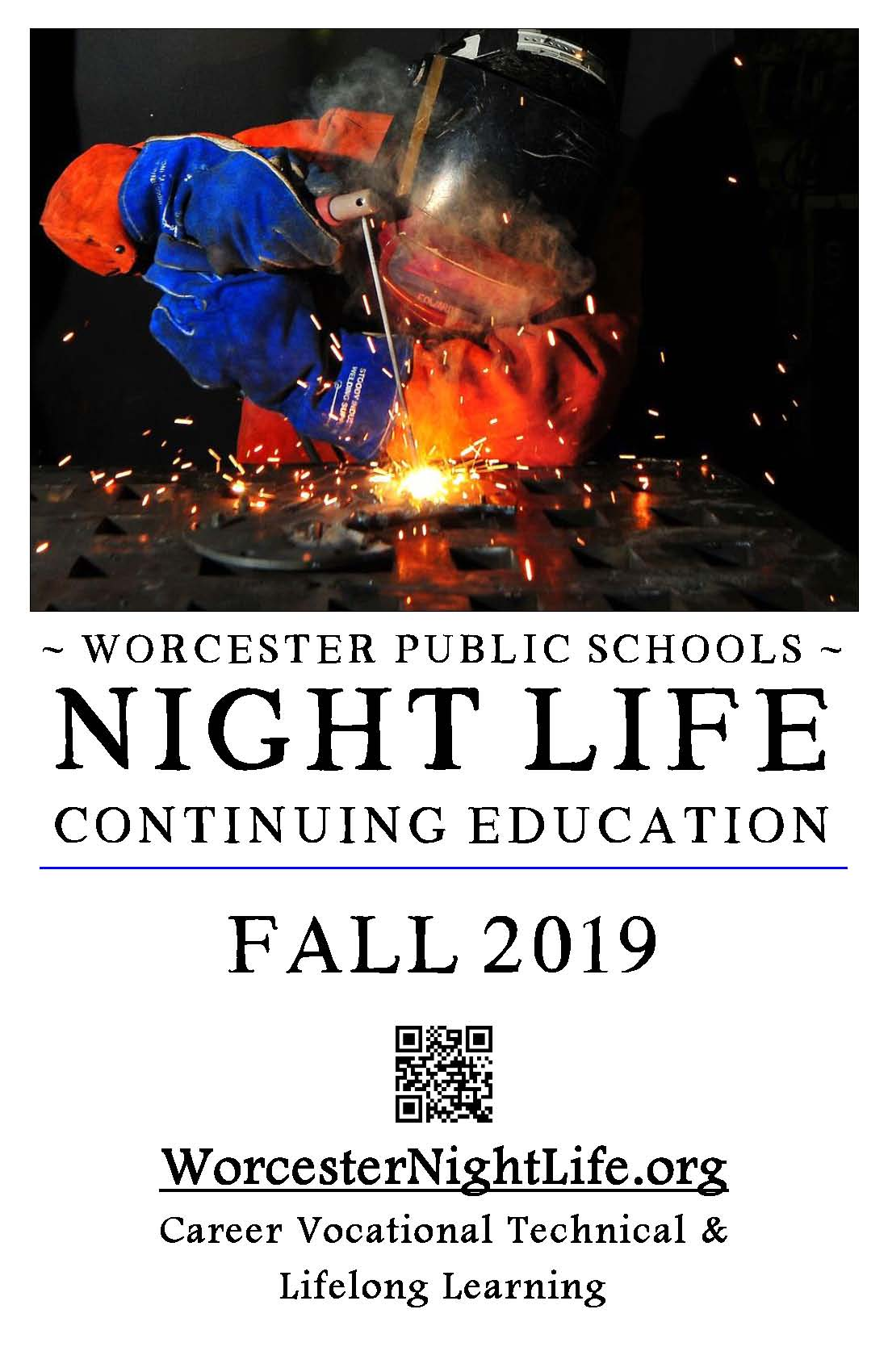 Welcome Worcester Night Life Continuing Education